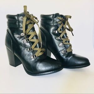 Charlotte Russe Black Boots Size 6